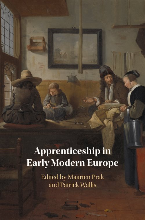 Apprenticeship in Early Modern Europe_Cover