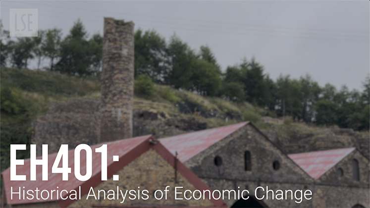 EH401 The Historical Analysis of Economic Change