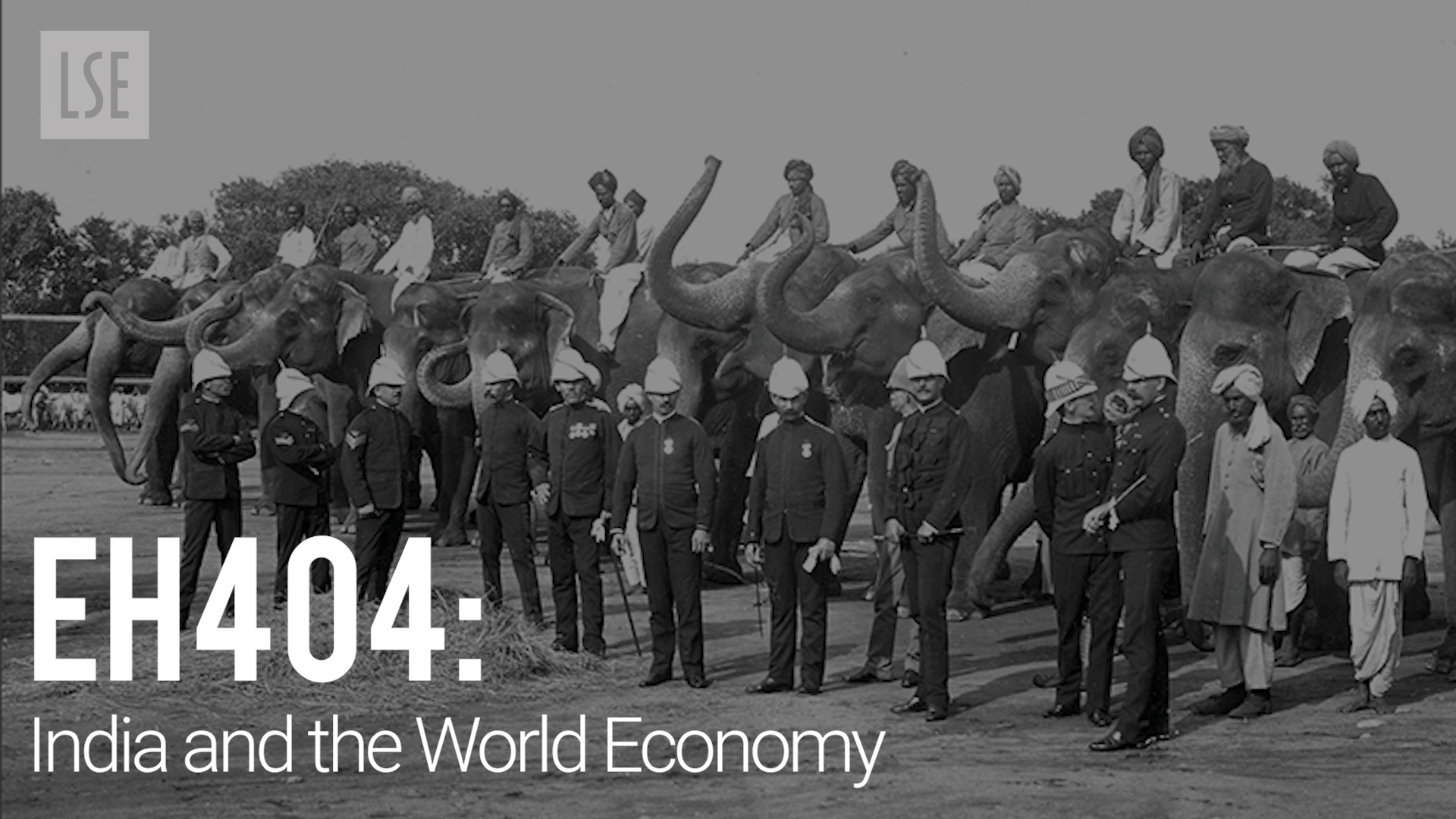 EH404 India and the World Economy