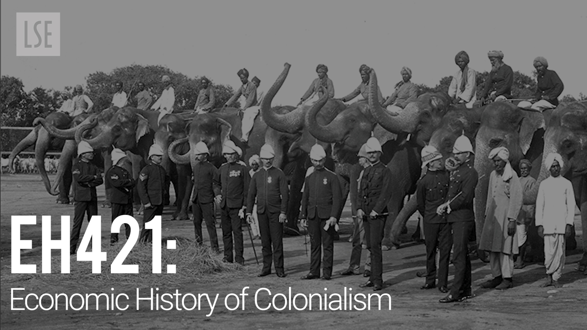 EH421 Economic History of Colonialism