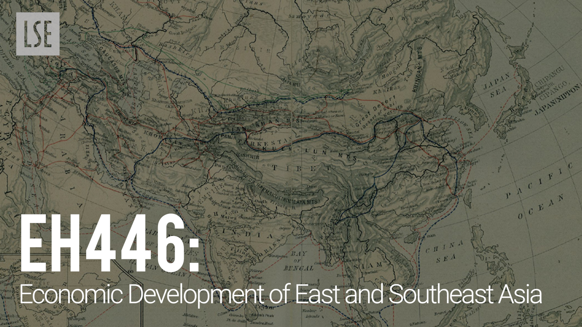 EH446 Economic Development of East and Southeast Asia