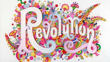 The Beatles Illustrated Lyrics Revolution 1968 c Alan Aldridge