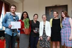 Grantham Research Institute wins Platinum Green Impact award