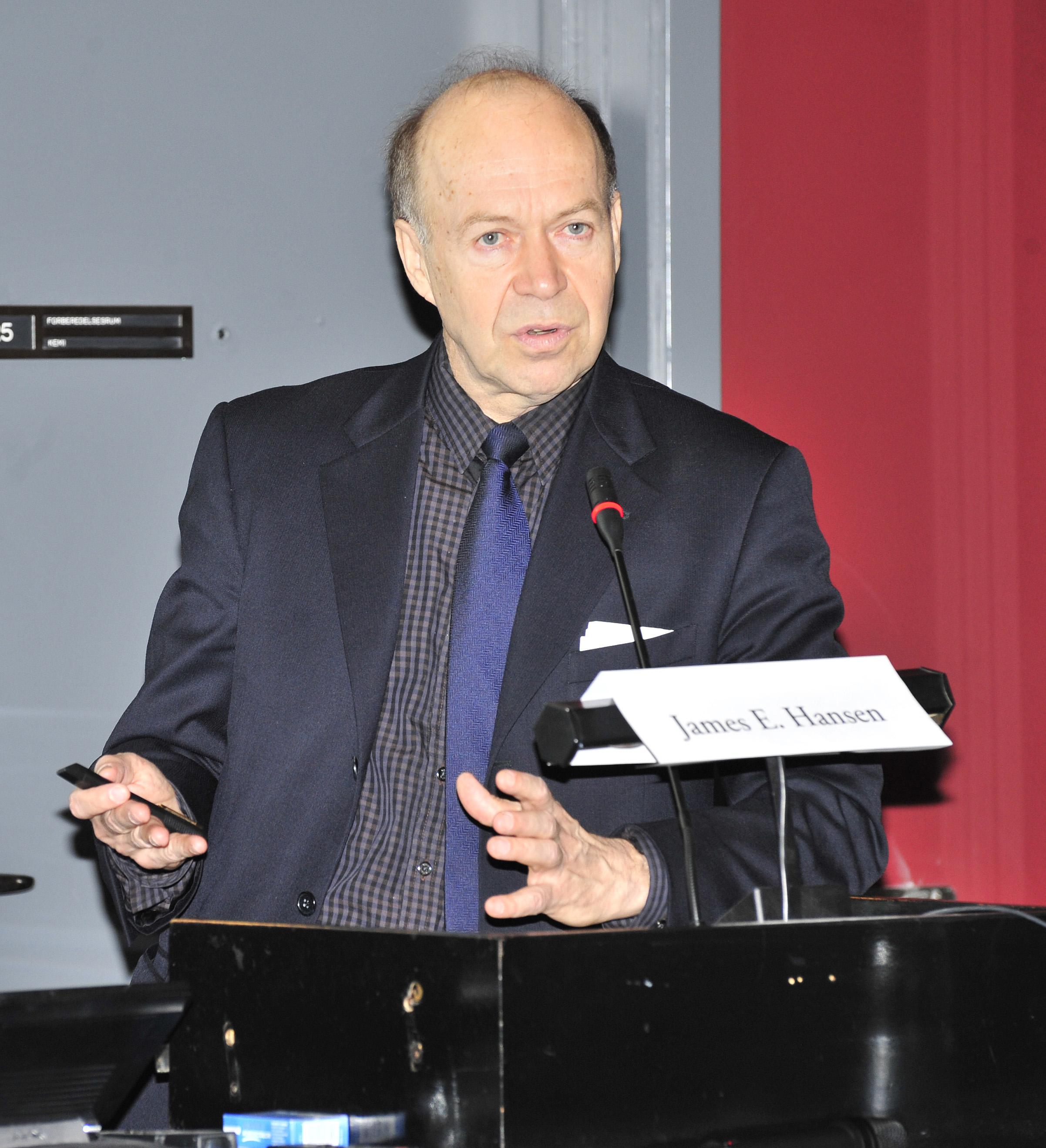 Джеймс Эдвард Хансен о глобальных изменениях климата в 2018 году