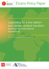 Legislating for a low carbon and climate resilient transition: learning from international experiences