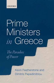 Prime Ministers in Greece cover