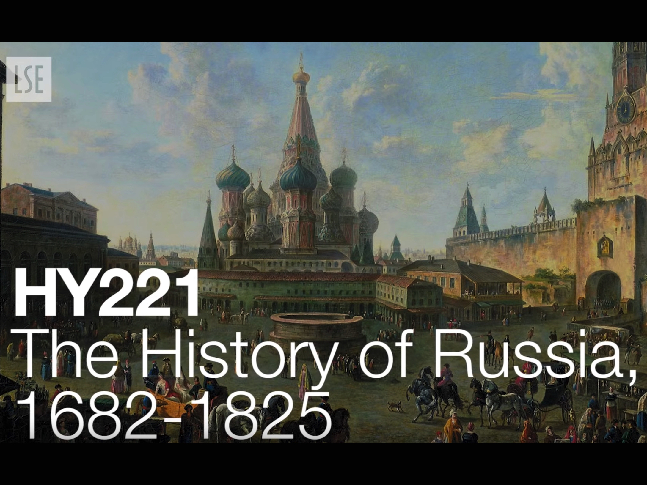 HY221: The History of Russia, 1682-1825