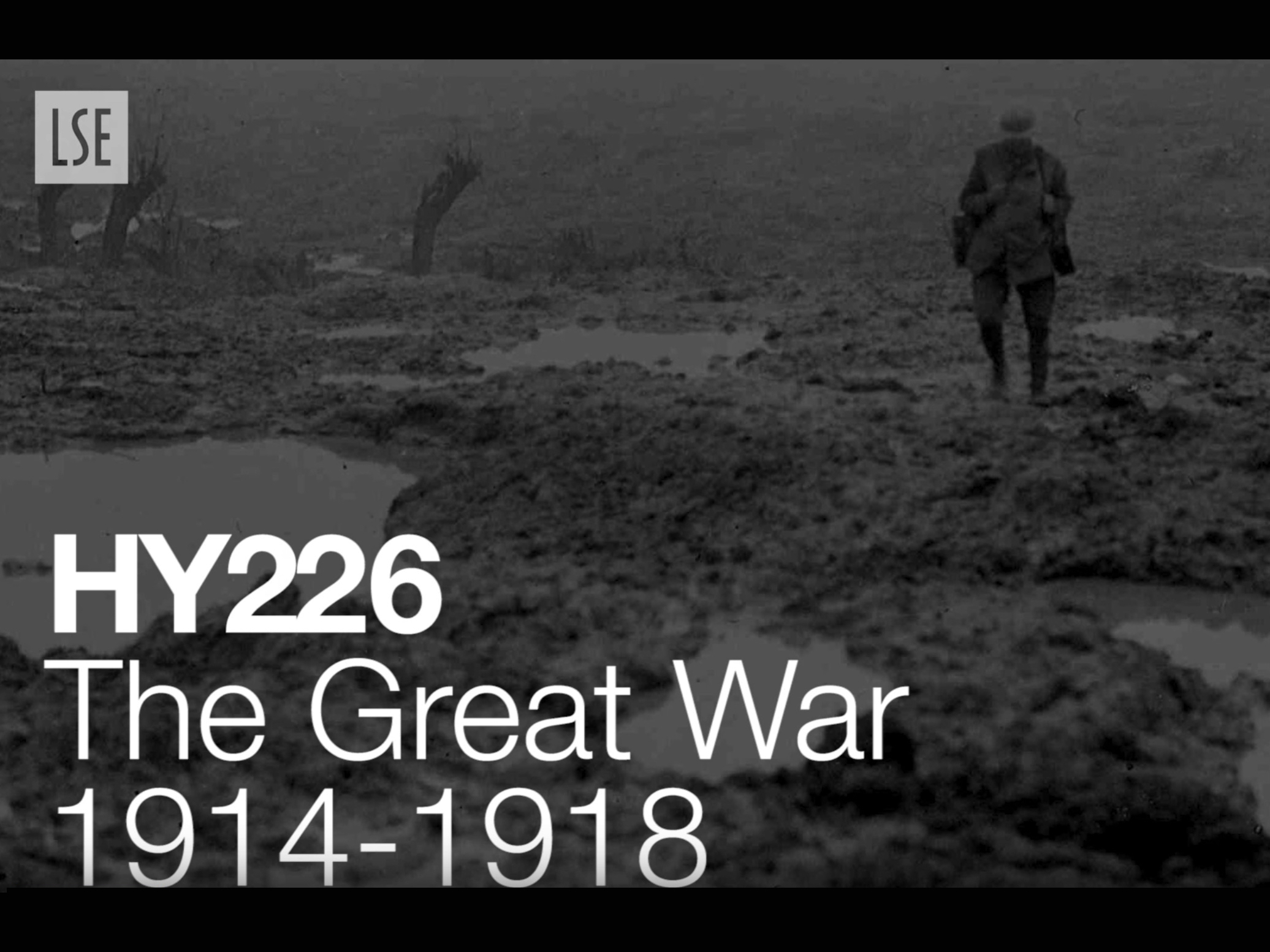 HY226: The Great War, 1914-1918