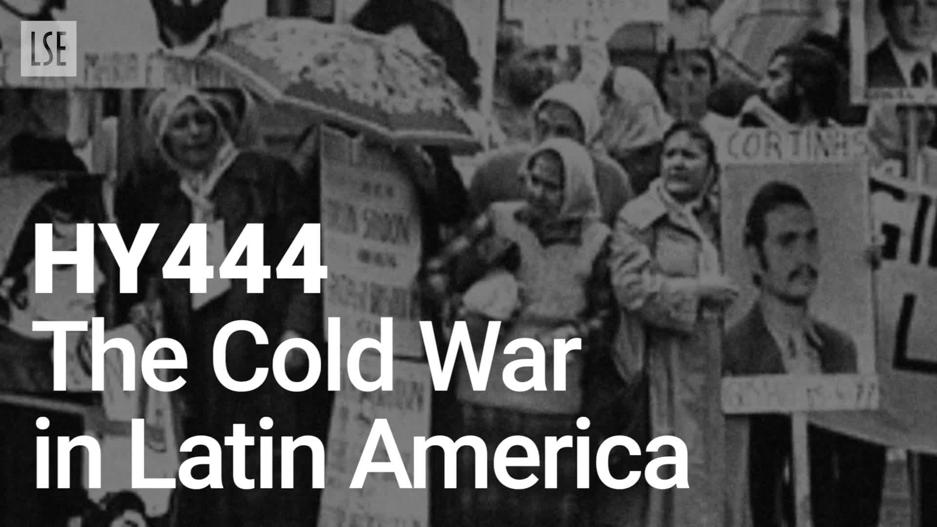 HY444: The Cold War in Latin America