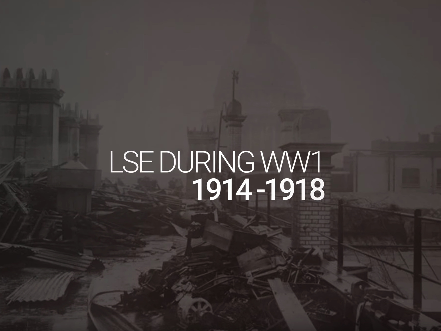 LSE during WWI