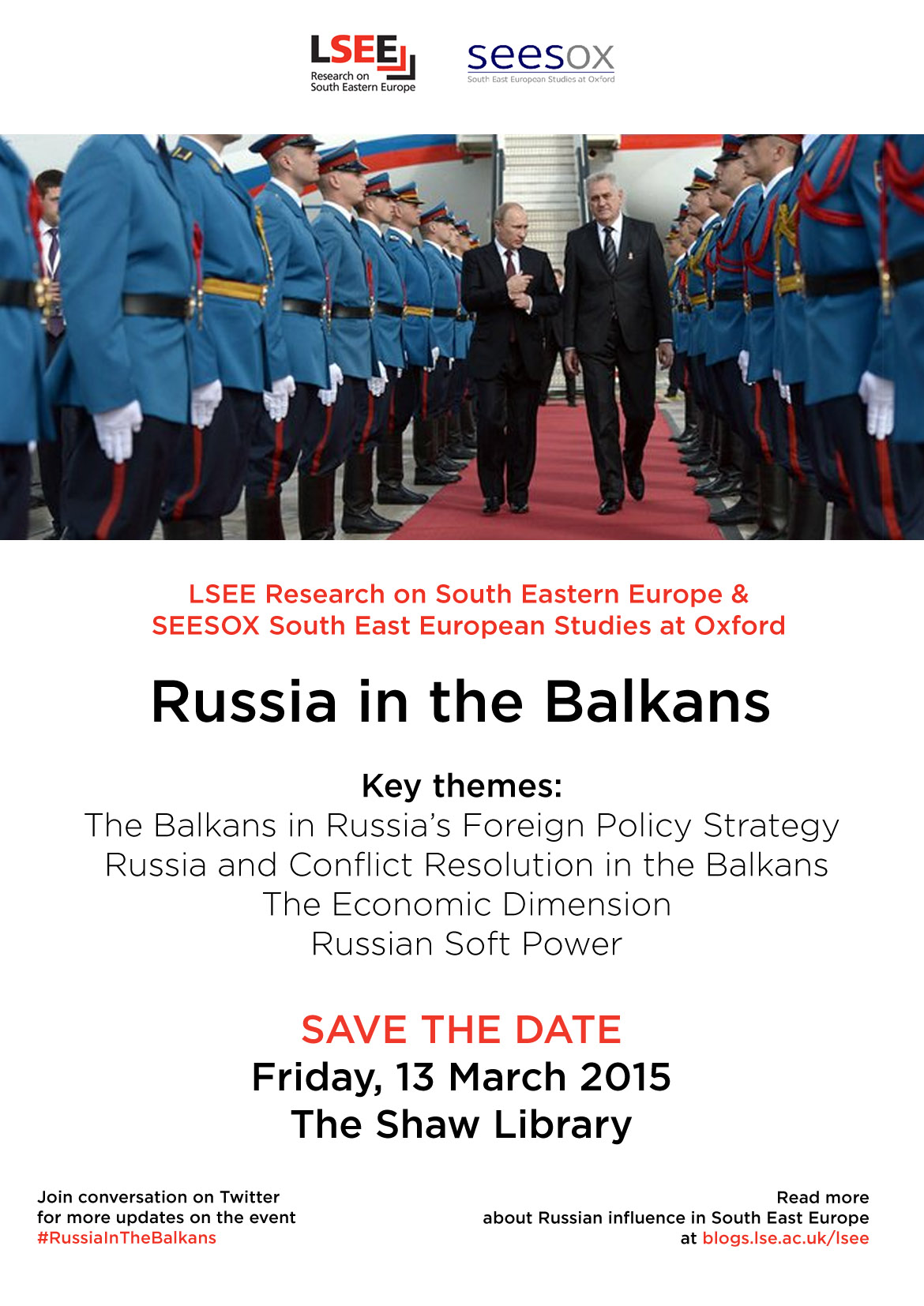 Russia in the Balkans poster - Dec 2014