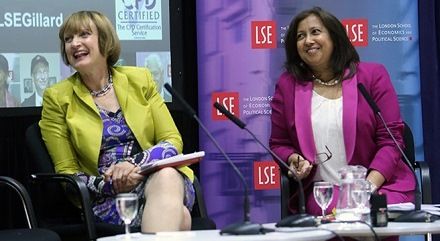 Purna Sen and Harriet Harman twitter