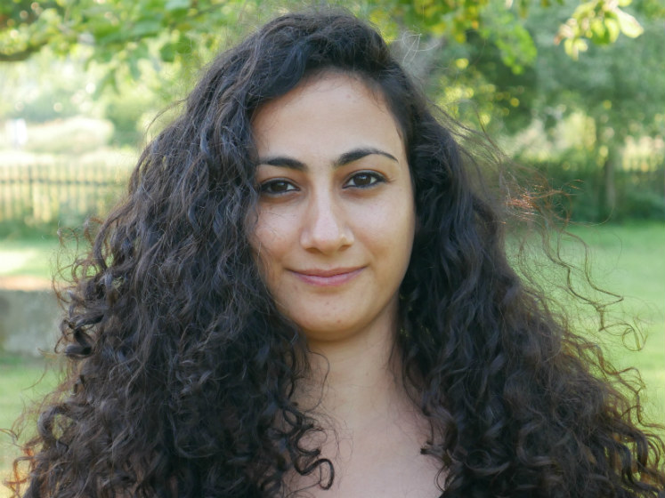 A headshot of Haneen Naamneh