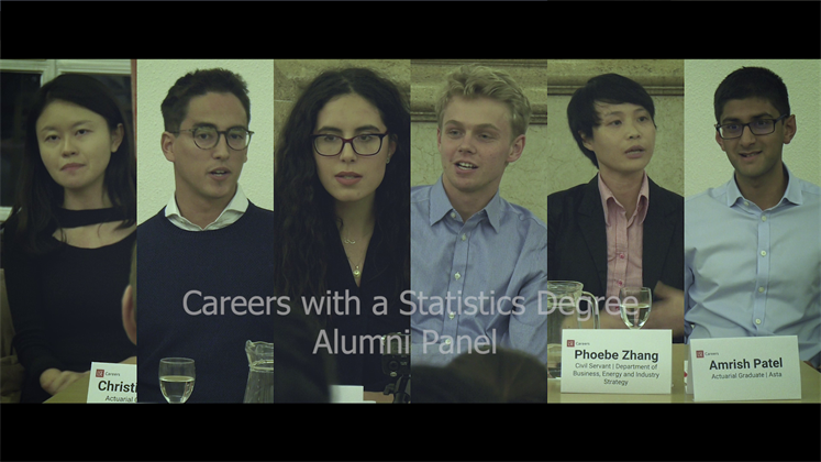 Where will a degree in Statistics take you?