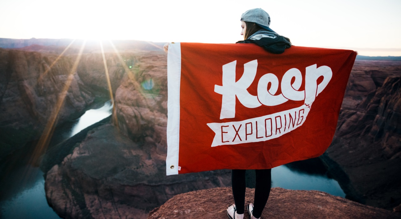 keep moving banner