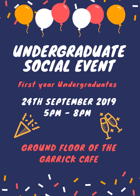 New Undergraduate Social Event1