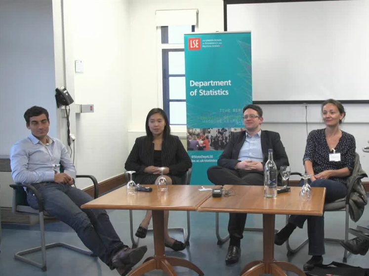 Careers with a Statistics PhD panel