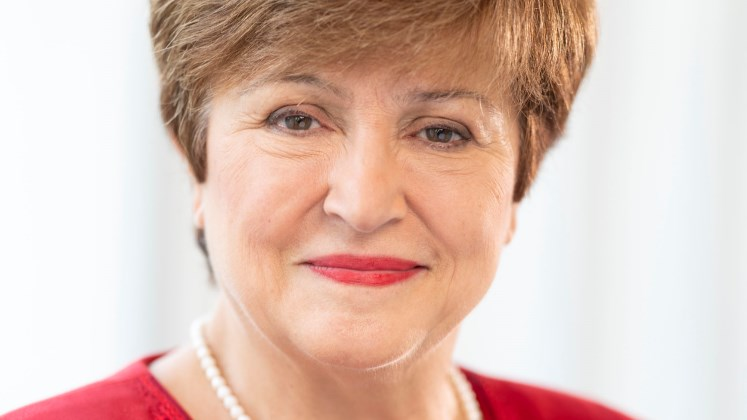 Kristalina Georgieva, LSE alum and Head of the International Monetary Fund