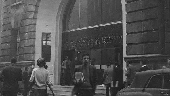 Main Entrance to LSE in the 1950s