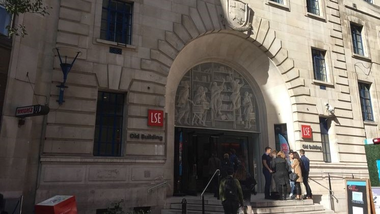 Main Entrance to LSE in 2018