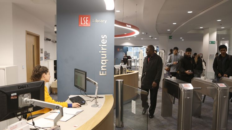 Entrance to the the main LSE Library