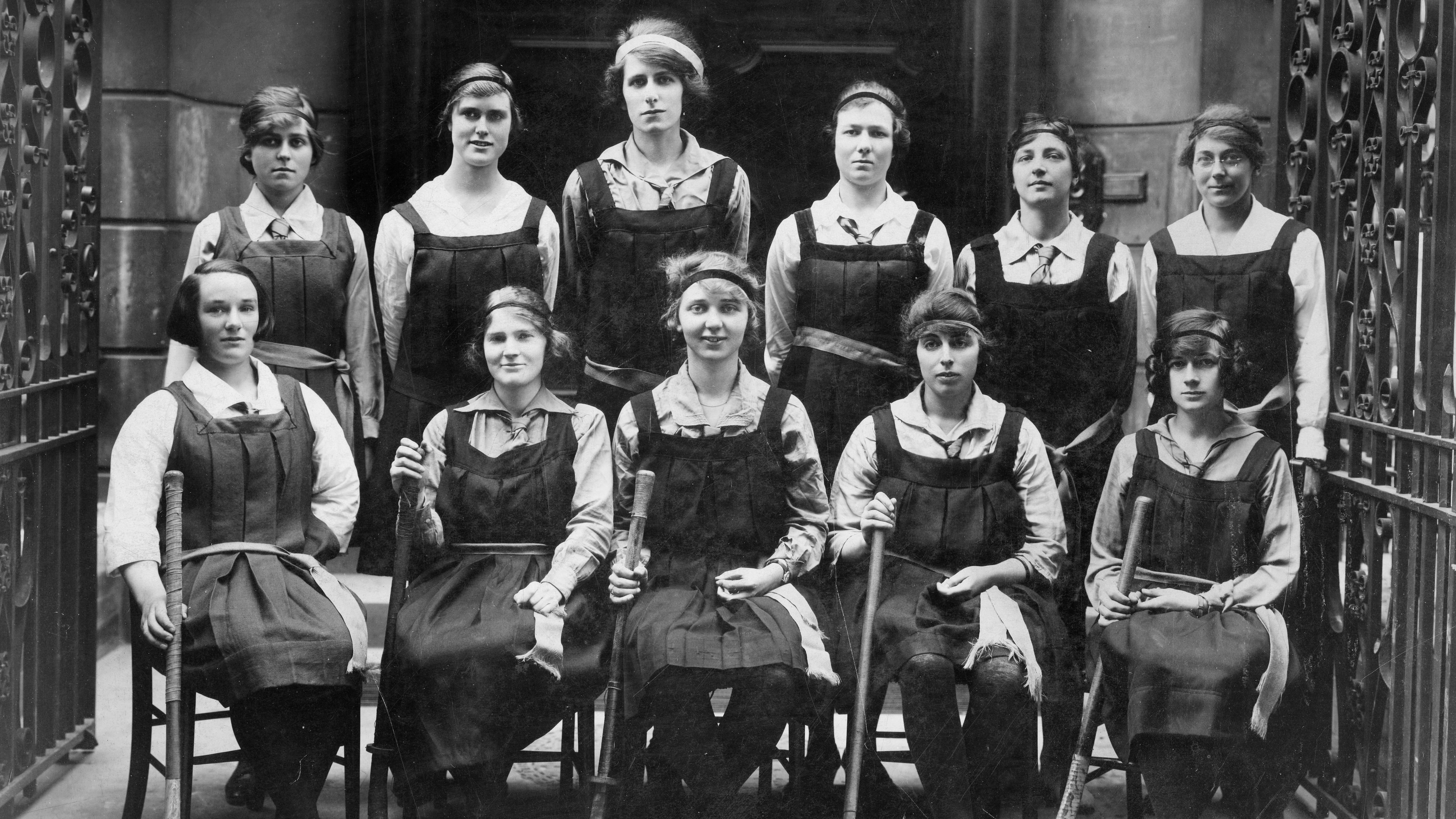 LSE Women's Hockey team 1920-21