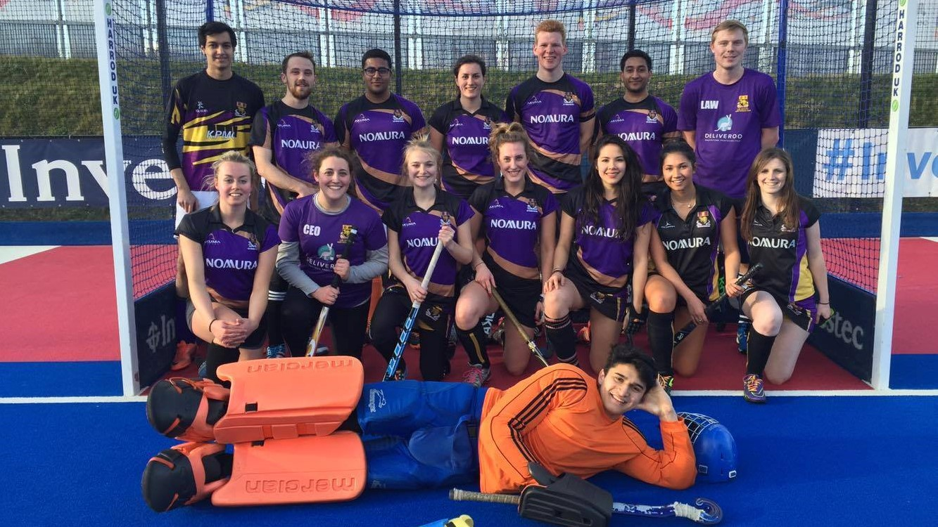 LSE Mixed Hockey team 2015-16