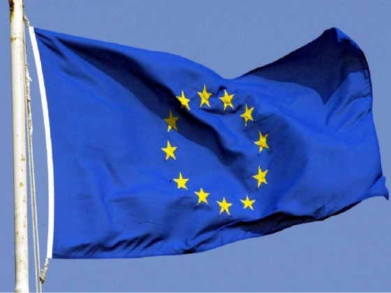 An EU flag blowing in the wind | LSE and Brexit | London School of Economics