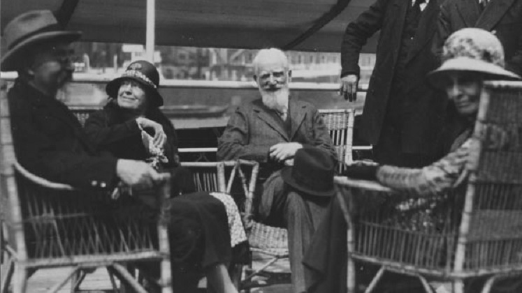 Charlotte and George Bernard Shaw, Beatrice and Sidney Webb, 1932