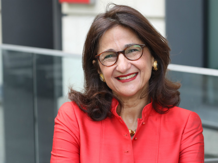 A headshot of Minouche Shafik.