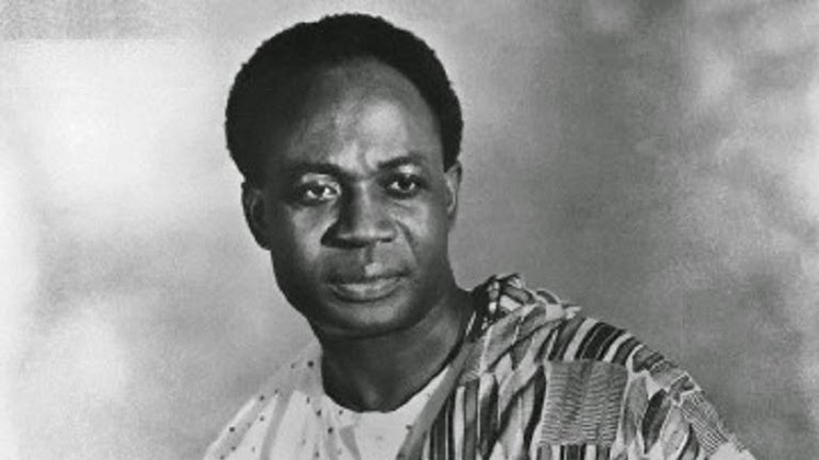 Portrait of LSE alumnus and First President of Ghana Kwame Nkrumah