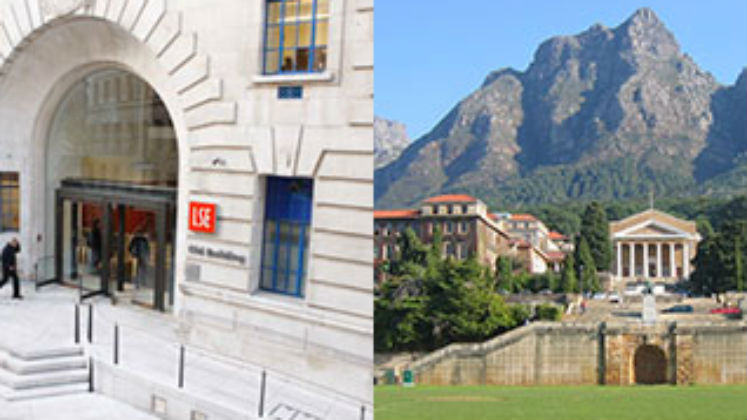 collage of LSE and UCT defining images