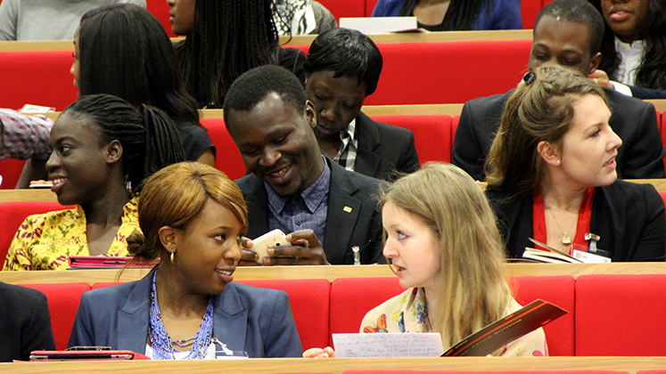 An audience shot during the 2014 LSE Africa Summit