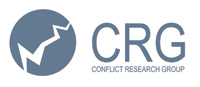 Logo of the Conflict Research Group at the University of Ghent