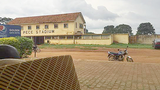 Photo of Gulu Town in northern Uganda