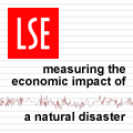 Measuring the economic impact of a natural disaster