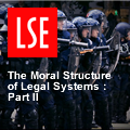 The moral structure of legal systems - part 2: an insurance against tyranny?