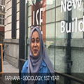 LSE Student Video Diary: A day with Farhana