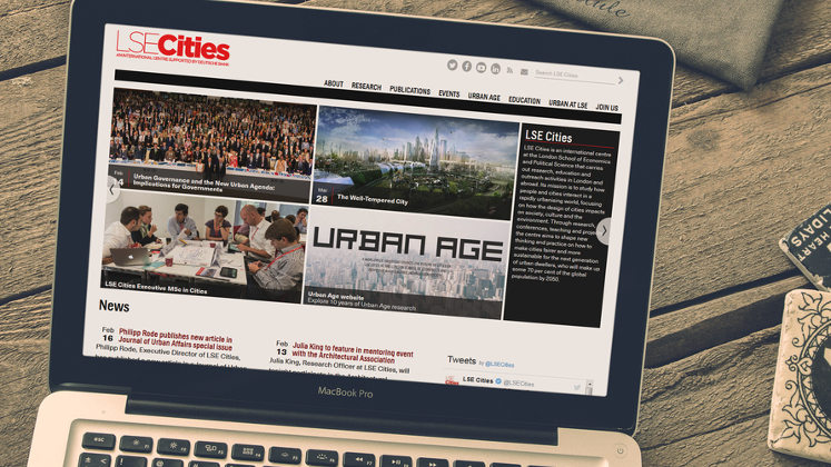 LSE Cities website