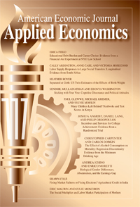 american economic journal applied economics