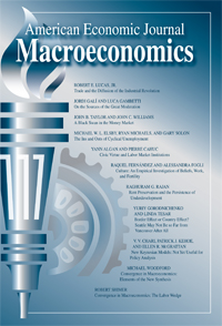 American economic journal macroeconomics poster