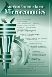 American economic journal microeconomics poster