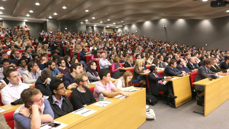 Audience at LSE