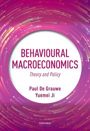 behavioural macroeconomics book de grauwe