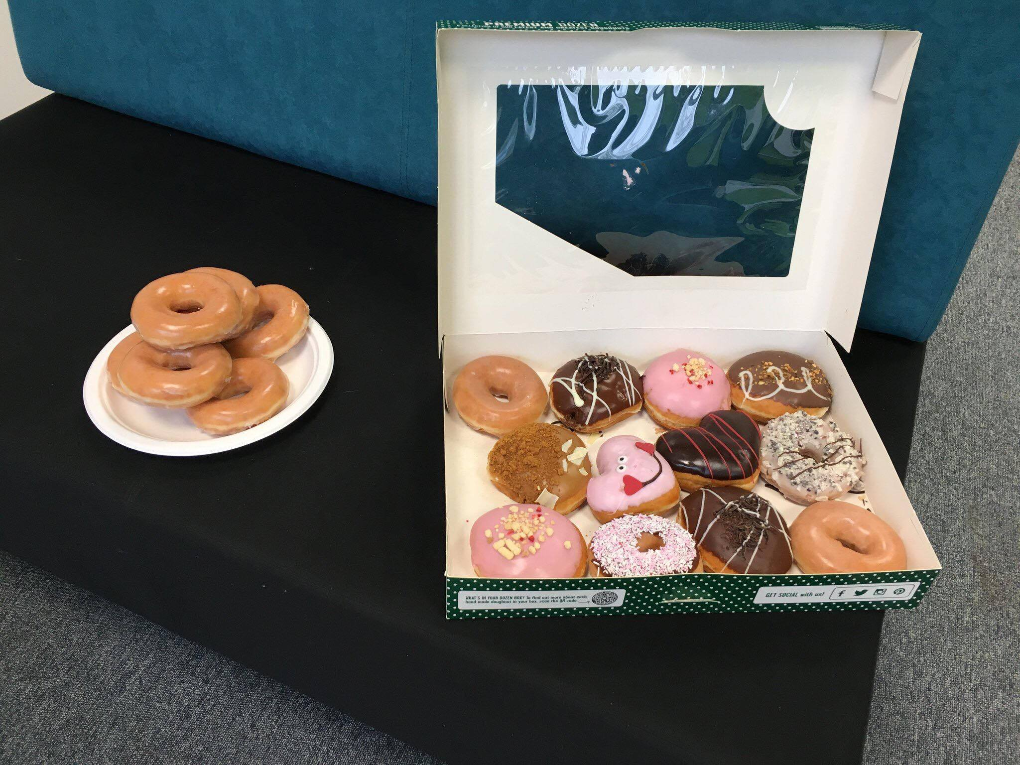 doughnuts common room