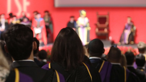 lse graduation ceremony 16.9
