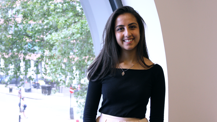 Portrait photo of an LSE Government graduate from our 'tips for new students' video