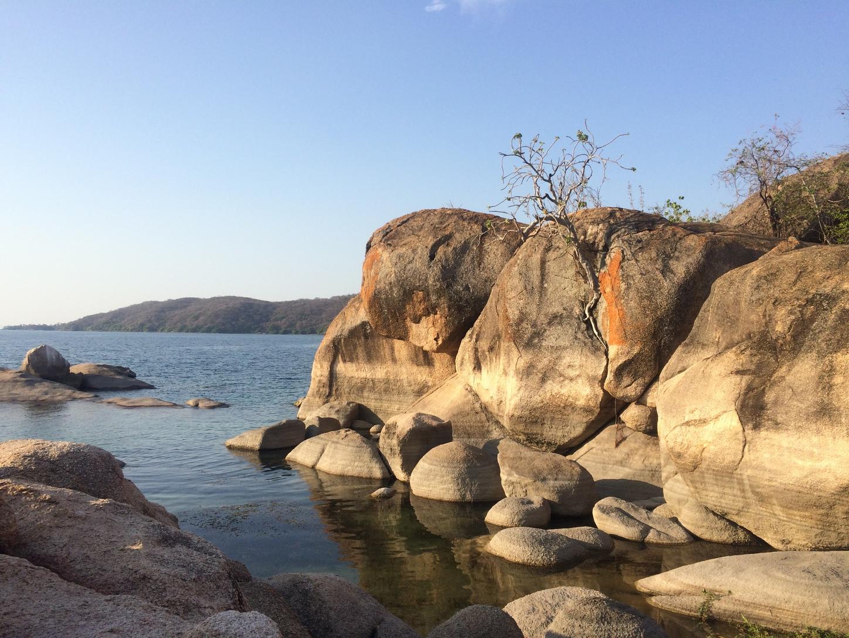 Low water levels in Malawi