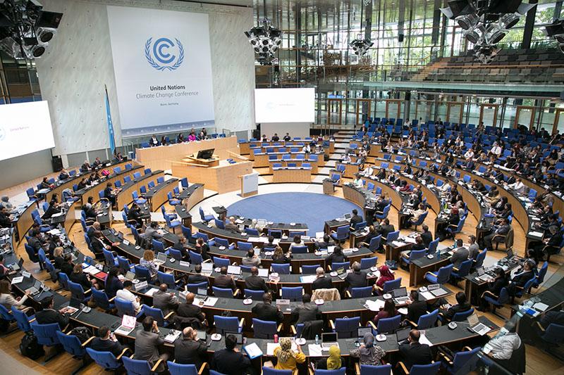 International climate politics