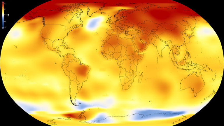 science impacts climate change